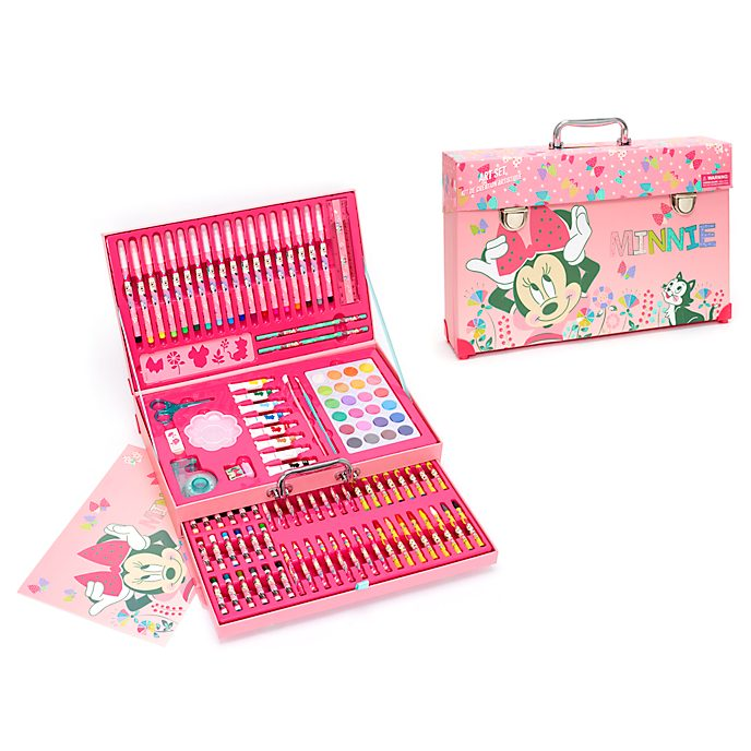 Disney Store Minnie Mouse Deluxe Art Kit