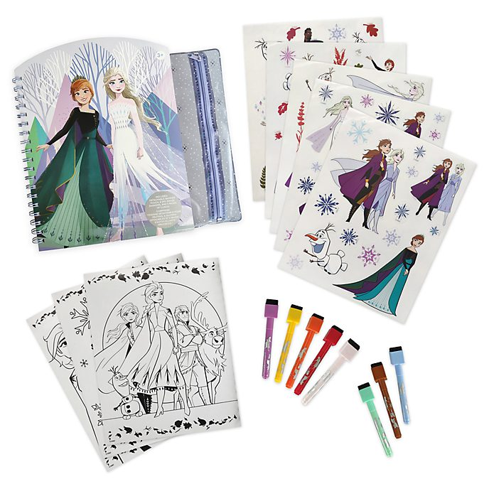 Disney Store Frozen 2 Erasable Art Book