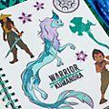 Album da disegno cancellabile Raya e l'Ultimo Drago Disney Store