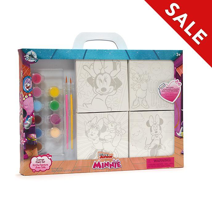 Disney Store - Minnie und Daisy - Malset mit Leinwand