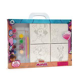 Set pintura en lienzo Minnie y Daisy, Disney Store