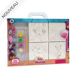 Disney Store Nécessaire de peinture sur toile Minnie et Daisy