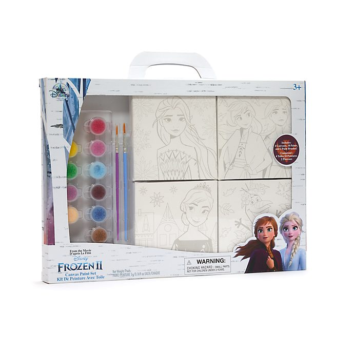 Disney Store Frozen 2 Canvas Paint Set