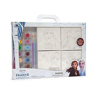 Disney Store Frozen 2 Canvas Paint Set