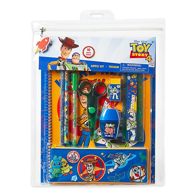 Set cancelleria Toy Story 4 Disney Store