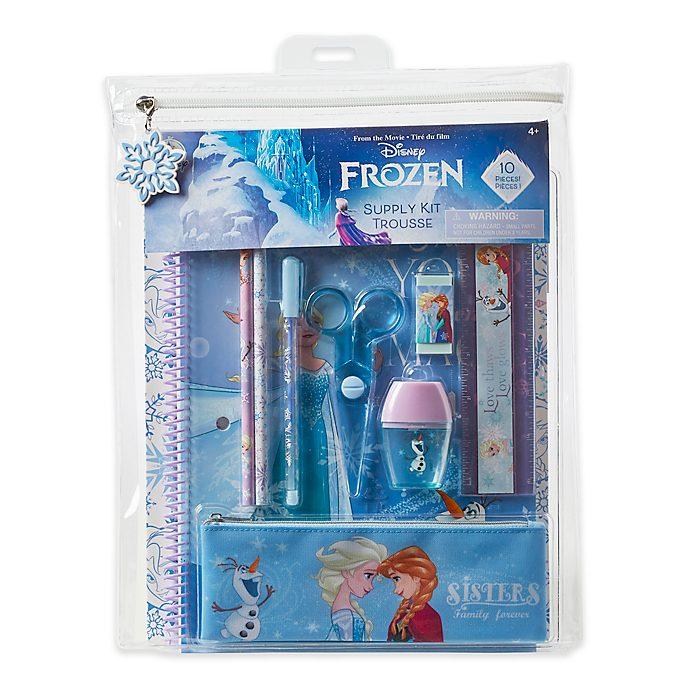 Juego de papelería Frozen, Disney Store