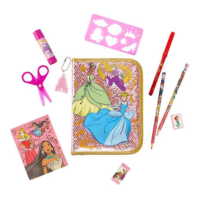 Estuche de papelería con cremallera Princesas Disney, Disney Store