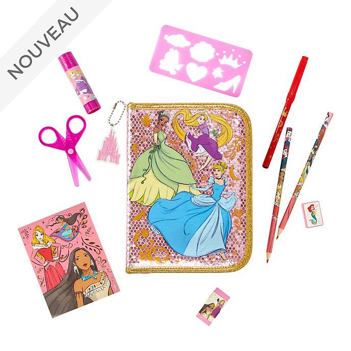 Disney Store Kit de fournitures Princesses Disney zippé