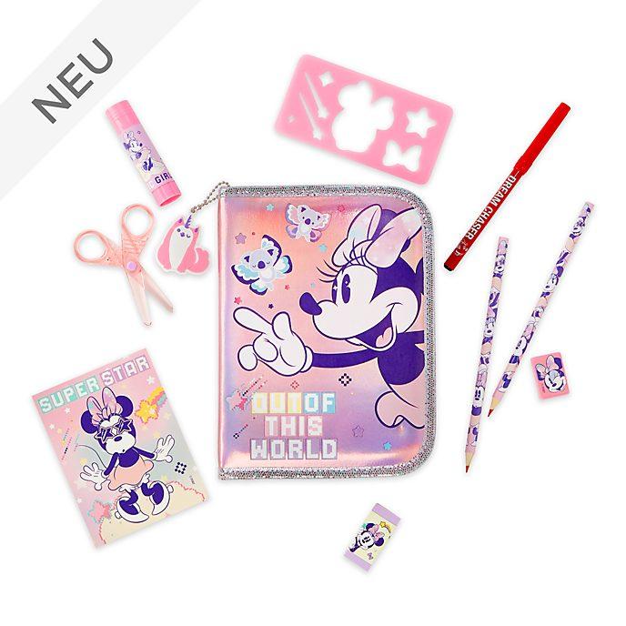 Disney Store - Minnie Maus - Mystisches Federmäppchen mit Inhalt