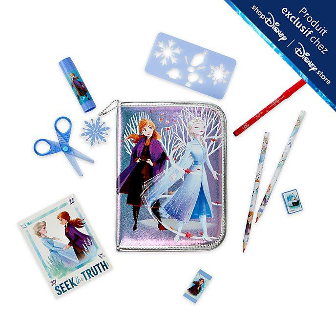 Disney Store Kit de fournitures La Reine des Neiges2 zippé