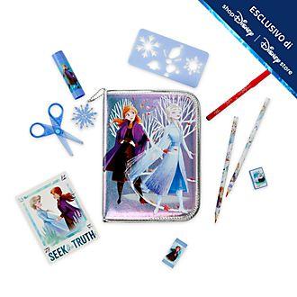 Set cancelleria con cerniera Frozen 2: Il Segreto di Arendelle Disney Store