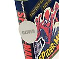 Disney Store Kit de fournitures Spider-Man zippé