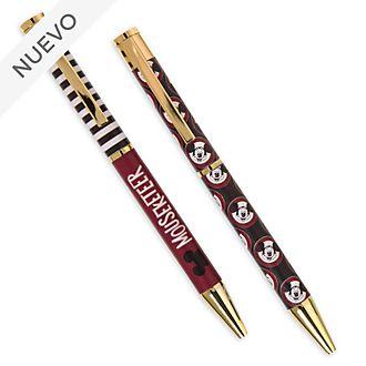 Bolígrafos Mickey Mouse, Disney Store (2unidades)