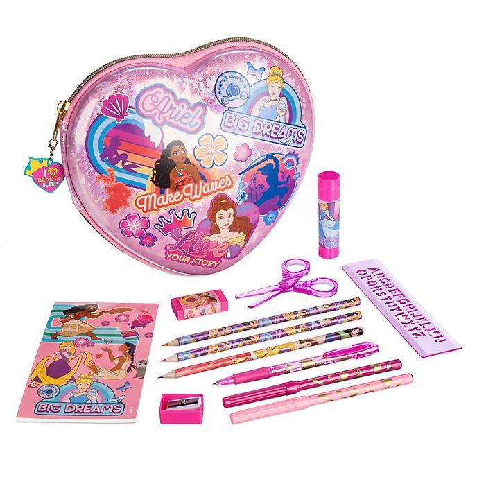 Set cancelleria con cerniera Principesse Disney, Disney Store