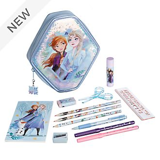 Disney Store Frozen 2 Zip-Up Stationery Kit