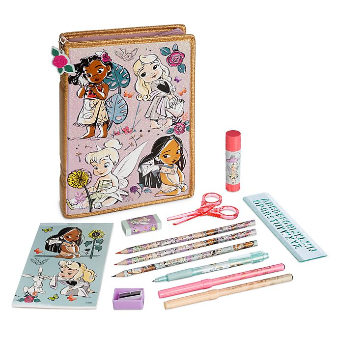 Set cancelleria con cerniera Collezione Disney Animators Disney Store