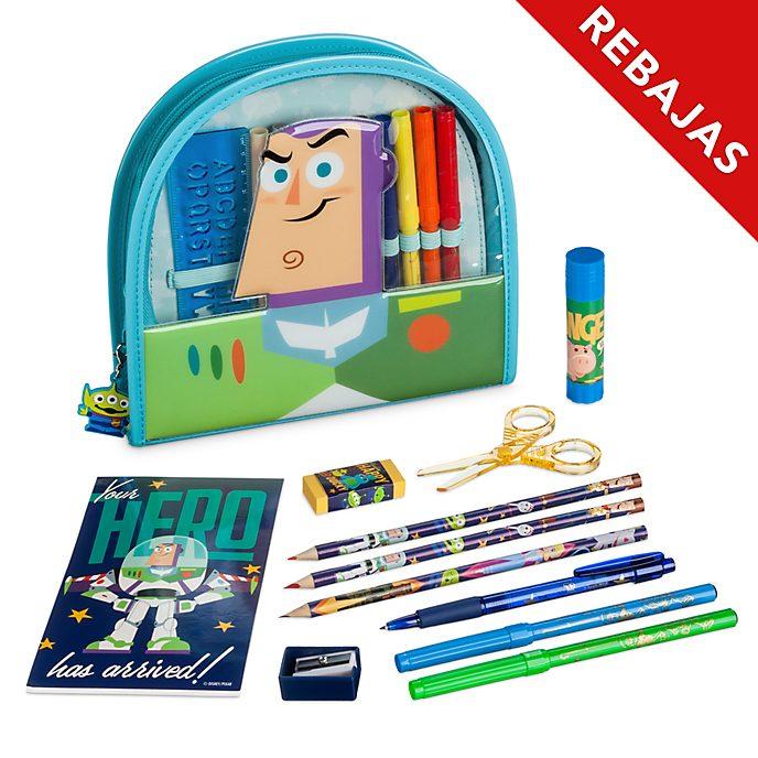 Estuche papelería con cremallera Toy Story 4, Disney Store