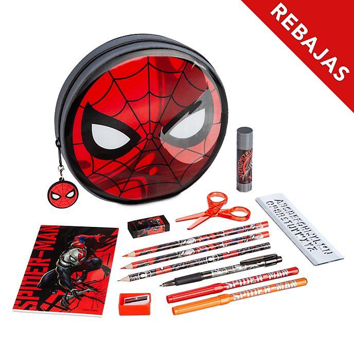 Estuche papelería con cremallera Spider-Man, Disney Store