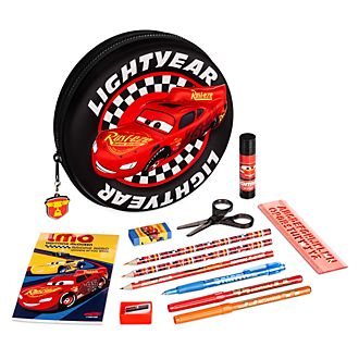 Disney Store Kit de fournitures Flash McQueen zippé