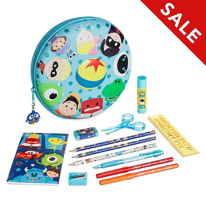 Disney Store Disney Pixar Zip-Up Stationery Kit
