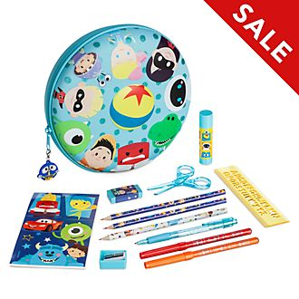Disney Store Disney Pixar Zip-Up Stationery Kit