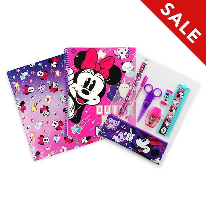 Disney Store Minnie Mouse Mystical Stationery Supply Kit