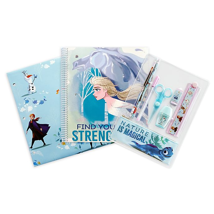 Disney Store Frozen 2 Stationery Supply Kit