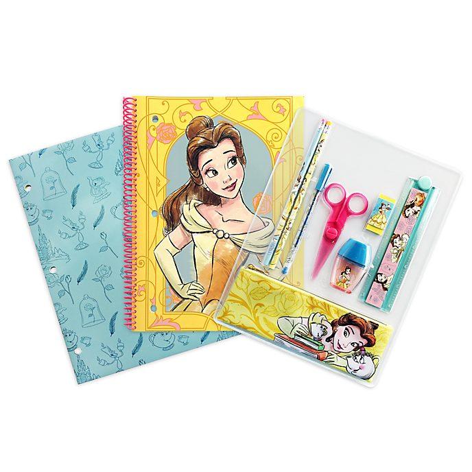 Disney Store Belle Stationery Supply Kit