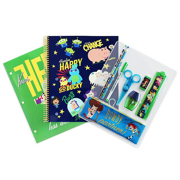 Disney Store Toy Story 4 Stationery Supply Kit