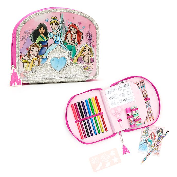 Disney Store Kit de fournitures Princesses Disney zippé