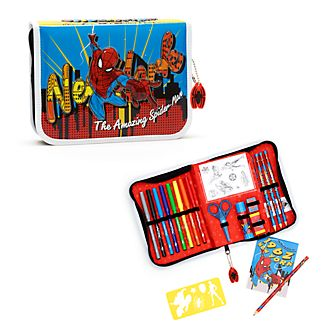 Disney Store Spider-Man Stationery Kit