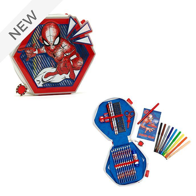 Disney Store Spider-Man Zip-Up Stationery Kit