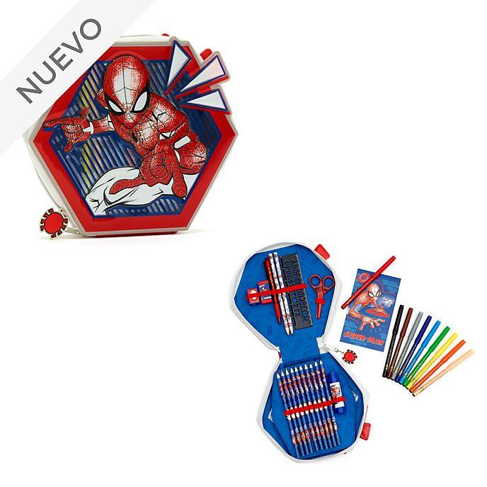 Estuche artículos papelería con cremallera Spider-Man, Disney Store