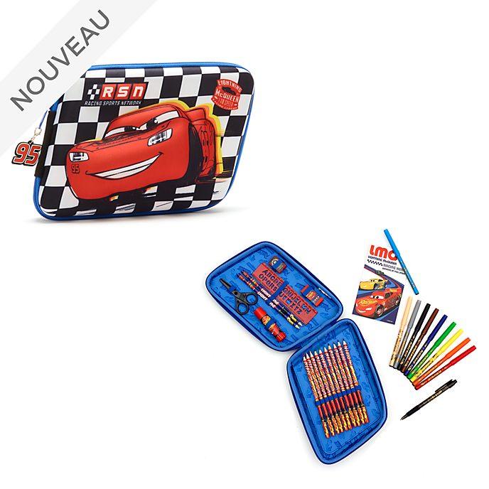 Disney Store Kit de fournitures zippé Flash McQueen