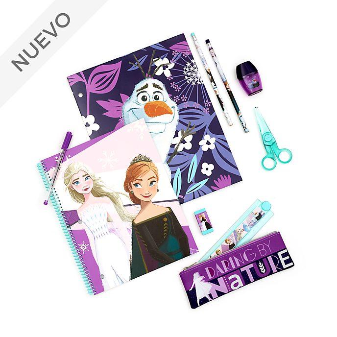 Juego papelería Frozen 2, Disney Store