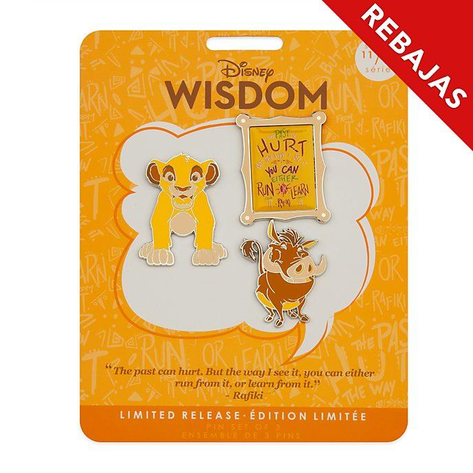 Set de pins El Rey León, Disney Wisdom, Disney Store (11 de 12)