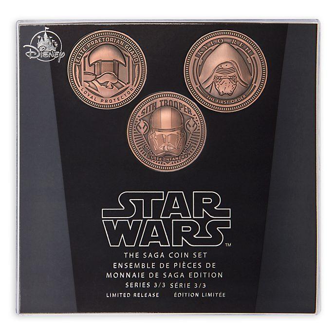 Juego de monedas, saga Star Wars, Disney Store (3 de 3)