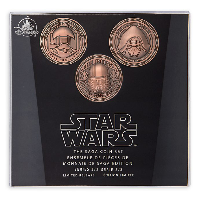 Set di monete Star Wars The Saga Disney Store, 3 di 3