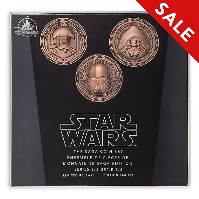 Disney Store Star Wars The Saga Coin Set, 3 of 3