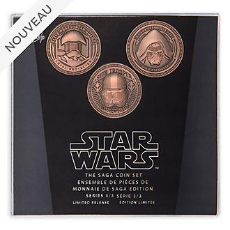 Disney Store Ensemble de pièces de collection Star Wars: La Saga, série3sur3