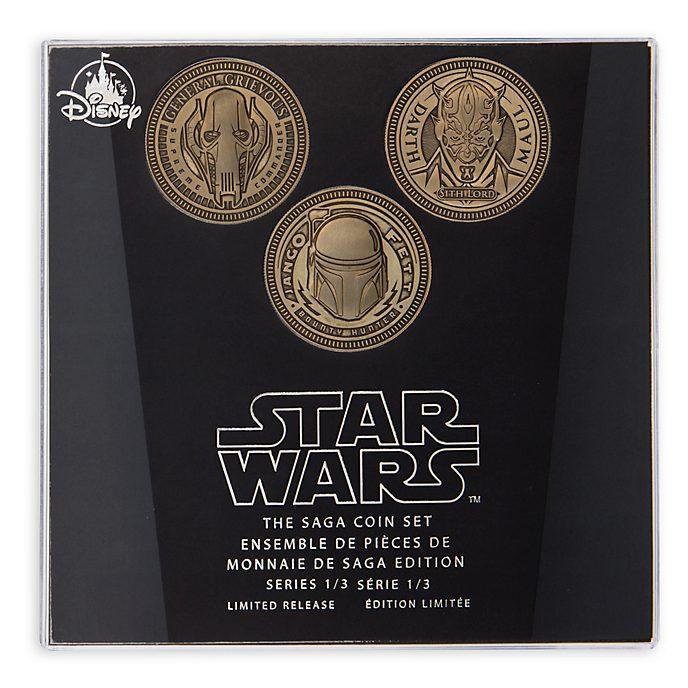 Juego de monedas, saga Star Wars, Disney Store (1 de 3)