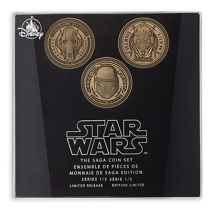 Set di monete Star Wars The Saga Disney Store, 1 di 3