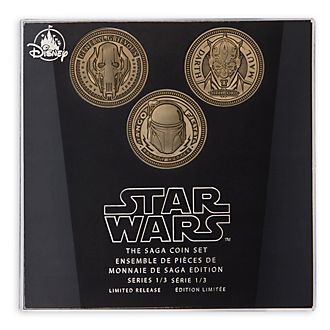 Disney Store Ensemble de pièces de collection Star Wars: La Saga, série1sur3