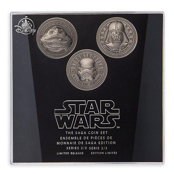 Juego de monedas, saga Star Wars, Disney Store (2 de 3)