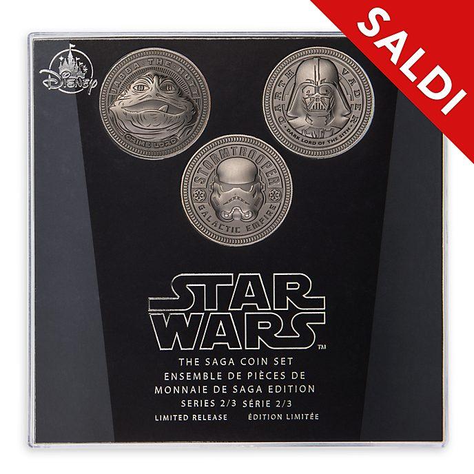 Set di monete Star Wars The Saga Disney Store, 2 di 3