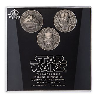 Set di monete Star Wars The Saga Disney Store, 2 di 3