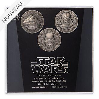 Disney Store Ensemble de pièces de collection Star Wars: La Saga, série2sur3