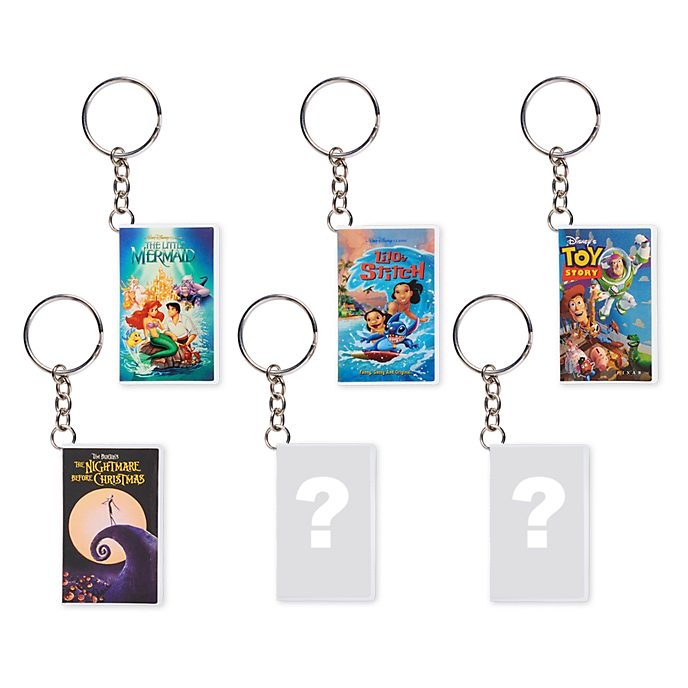 Portachiavi VHS misterioso Oh My Disney, Disney Store