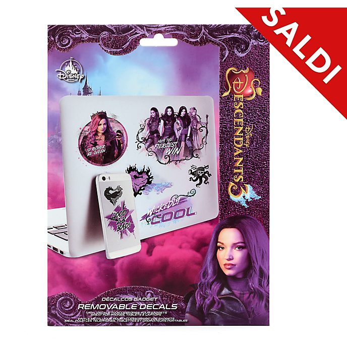 Decalcomanie gadget removibili Disney Descendants 3 Disney Store