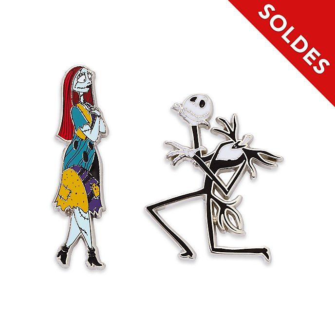 Disney Store Ensemble de pin's Jack Skellington et Sally
